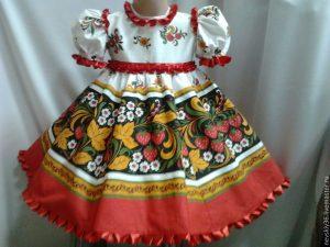 Как сшить русский народный сарафан для девочки своими руками?
