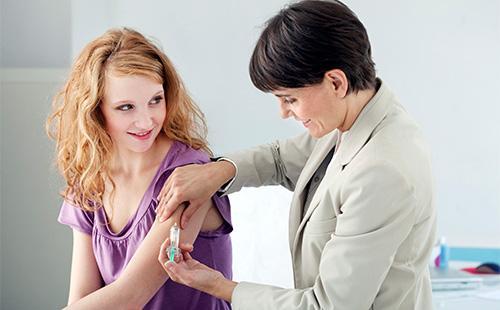 Вакцинация от паппиломавируса