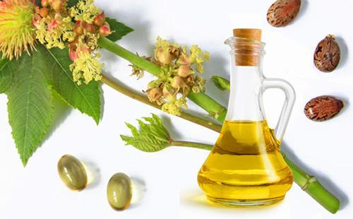 Цветы, семена и касторовое масло