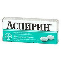 Всем знакомый аспирин