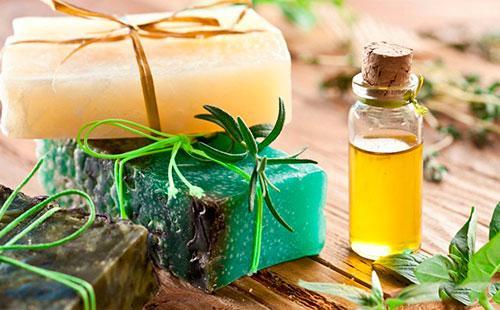 Оливковое масло и мыло