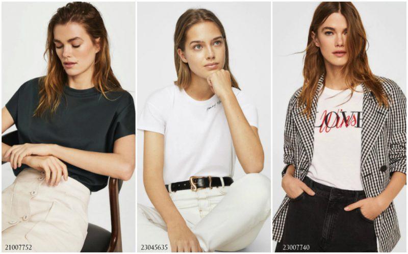 Женские футболки: просто и стильно